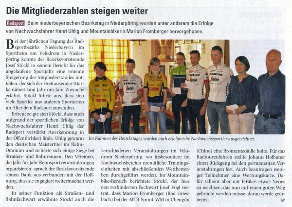 Quelle: bayern-sport Nr. 19 vom 07.05.2019