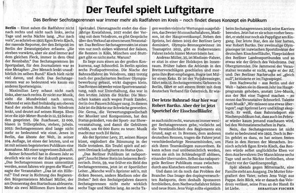 Quelle: Süddeutsche Zeitung 27.01.2015