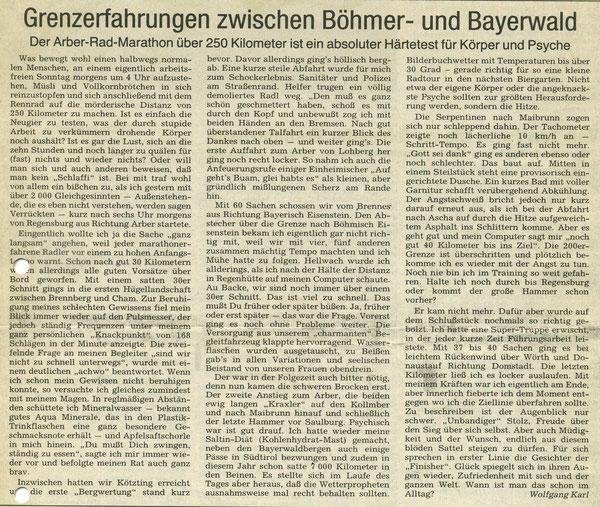 Quelle: Mittelbayerische Zeitung 30.07.1990