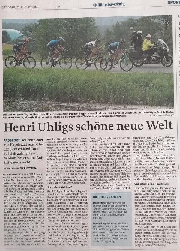 Quelle: Mittelbayerische Zeitung 31.08.2021