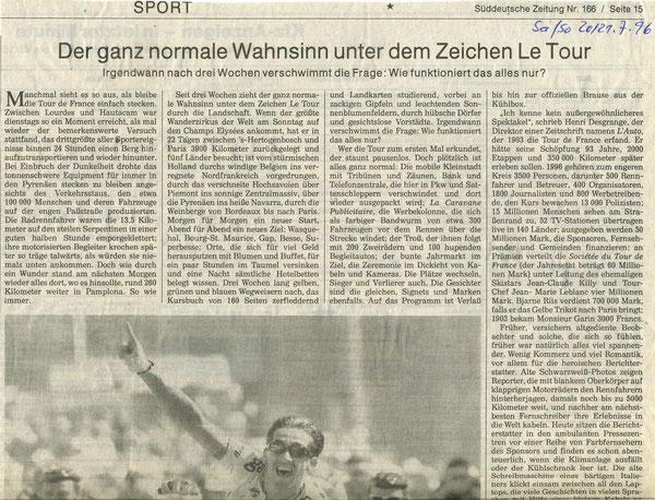 Quelle: Süddeutsche Zeitung 21.07.1996