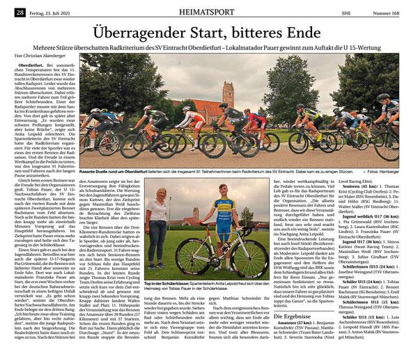 Quelle: Passauer Neue Presse 23.07.2021 - erhalten 29.07.2021