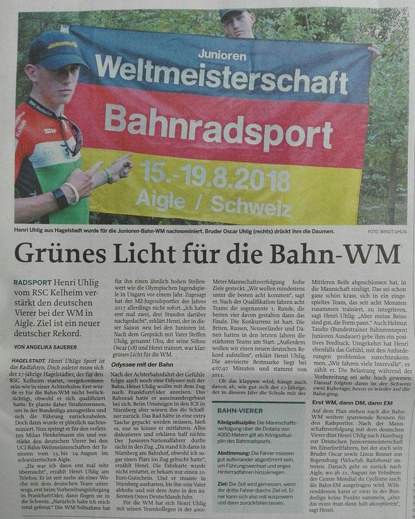 Quelle: Mittelbayerische Zeitung 11.08.2018