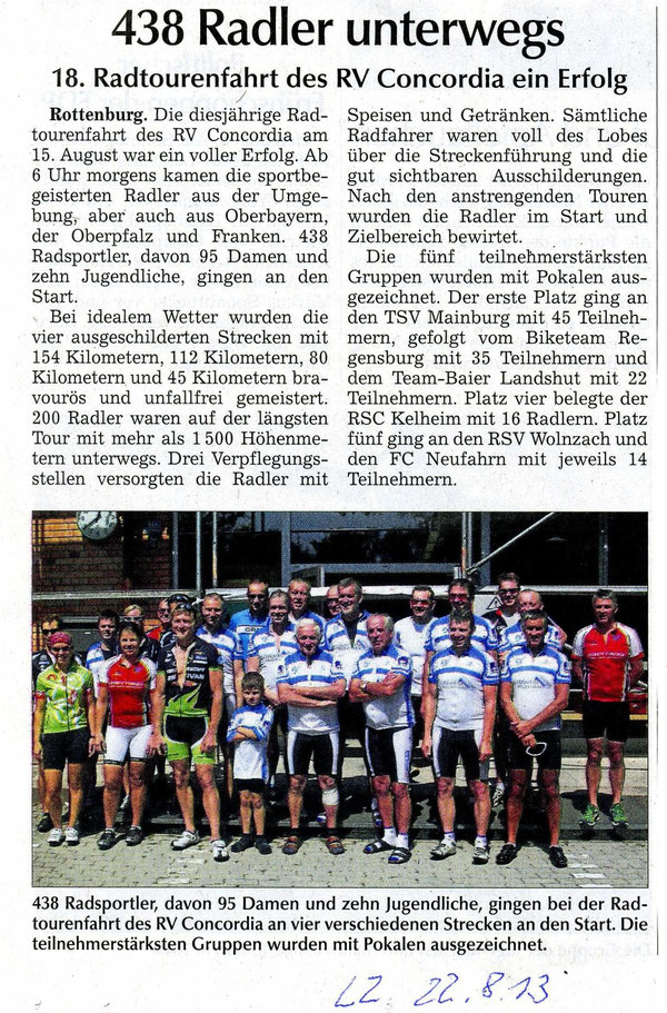 Quelle: Landshuter Zeitung vom 22.08.2013