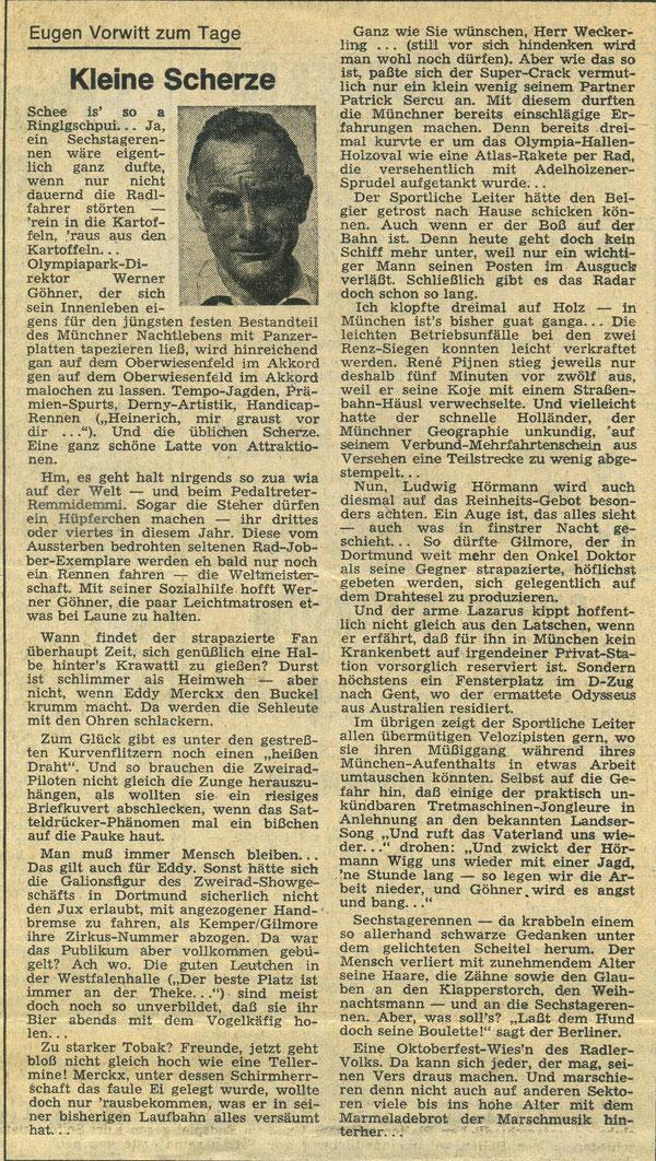 Quelle: Münchner Merkur, November 1975