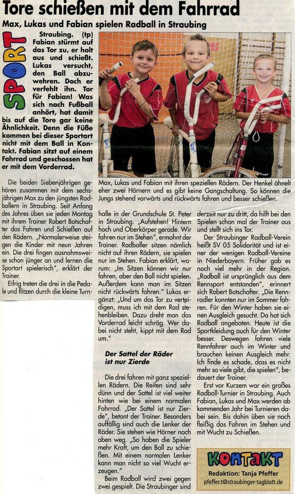 Artikel aus den Kindernachrichten der Mediengruppe Straubinger Tagblatt / Landshuter Zeitung vom 14.Oktober 2015