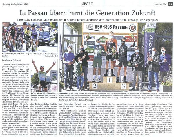 Quelle: Passauer Neue Presse 29.09.2020