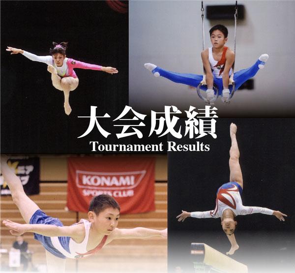四天王寺スポーツクラブ,体操,大会成績