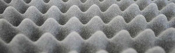 Schall - Schallschutz - Dämmung Schaumstoff