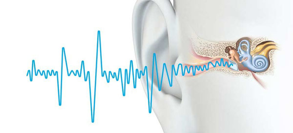 Schall gelangt ins Ohr - das kann stören