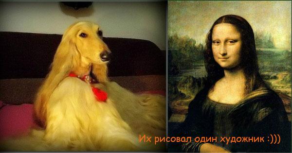 Две загадочные улыбки, два загадочных взгляда, две загадочные Особы )))