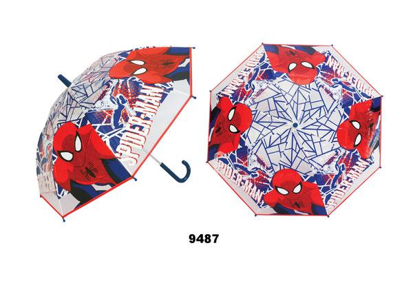 9487 Spiderman doorzichtig