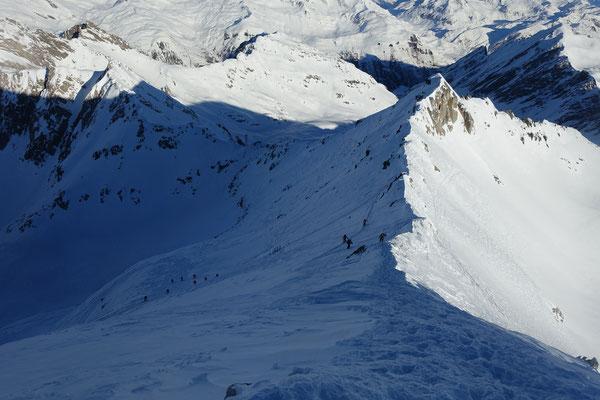 Cristallina, Skitour, Tessin, Bedretto, All' Acqua, Cristallinahütte, Capanna Cristallina