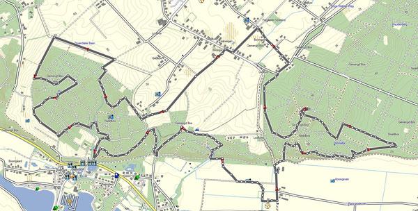 Ketelwaldtrail 2015.  17km