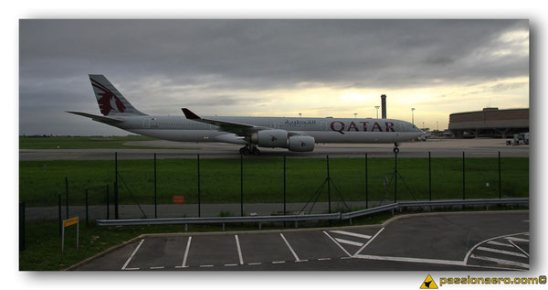 Airbus A340-600 Qatar