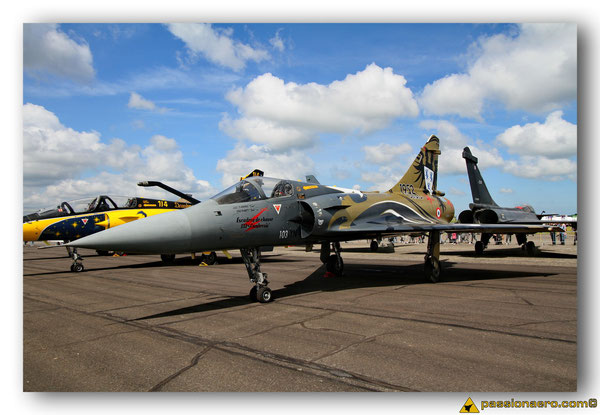 Mirage 2000C RDI dissolution du 1/12