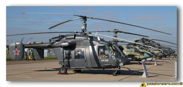 Alignement d'hélicoptères