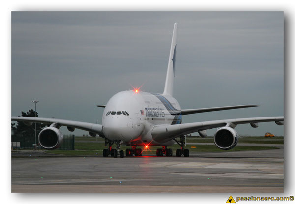 Airbus A-380 Malaysia Airlines