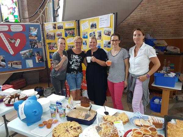 Der Förderverein organisiert das Eltern-Café zur Einschulung.