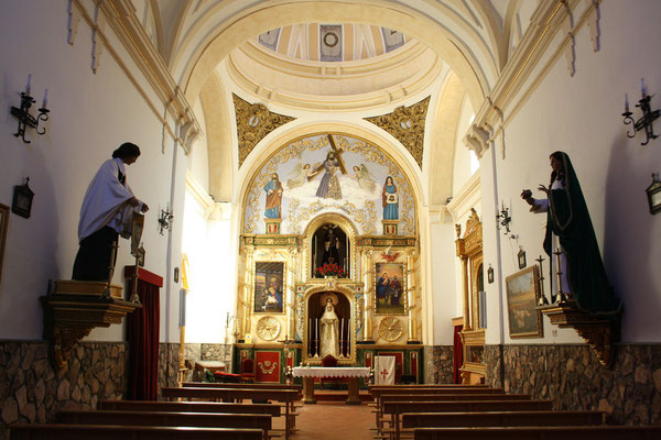 Aspecto actual del interior de la Ermita.