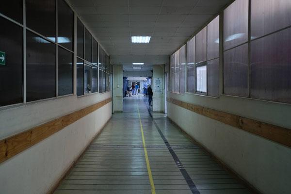 Hospital en Chile. ©César Salazar Schneide