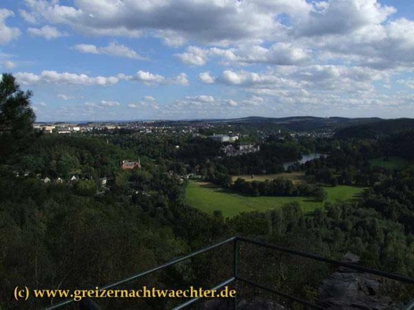 Greiz Vogtland Nachtwächter Stadtführung Stadtrundfahrt Nachtwanderung Weißes Kreuz