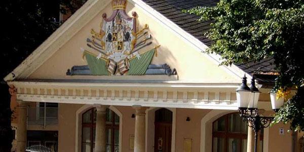Greiz Vogtland Nachtwächter Stadtführung Stadtrundfahrt Stadtrundgang Nachtwanderung Vogtlandhalle