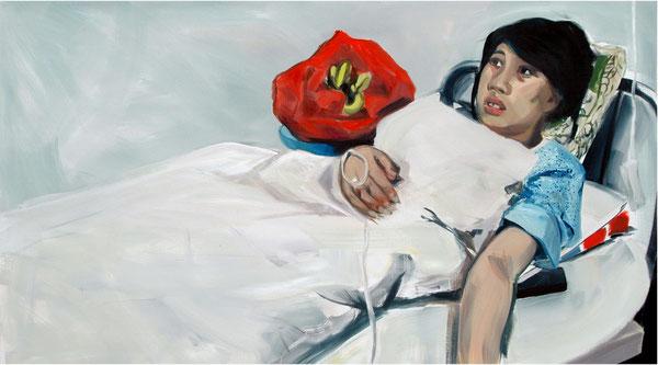 Alke Brinkmann, Feng Jianmei, 130cm x 230cm, Öl auf Leinwand, 2013