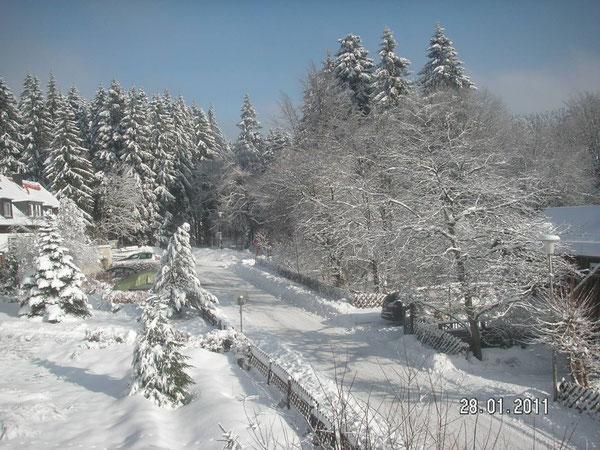 Winterstimmung bei uns