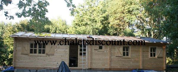 Maison bois Sygrid sans la terrasse