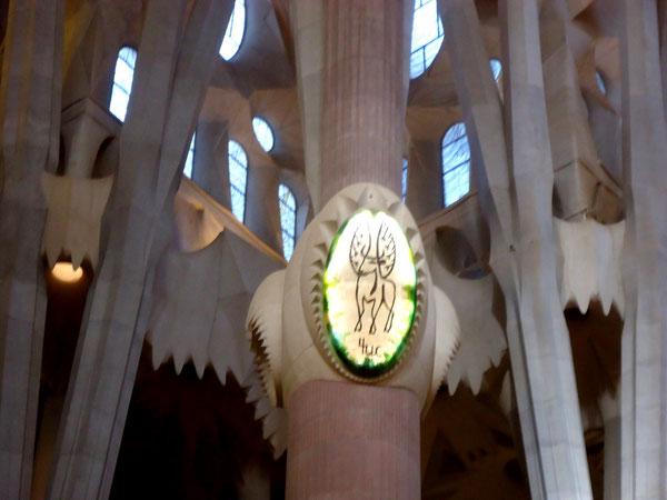 Саграда Фамилия в Барселоне - символика.