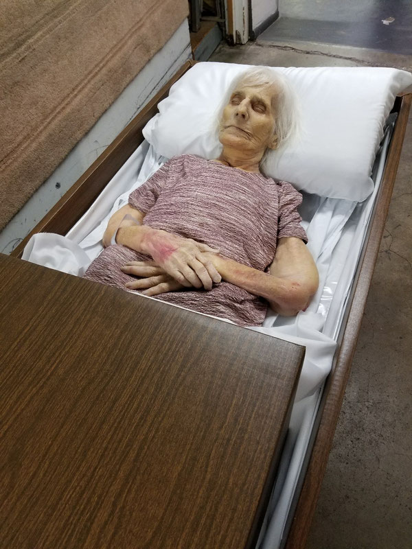 Mom asleep in Ridgefield WA July 2019
