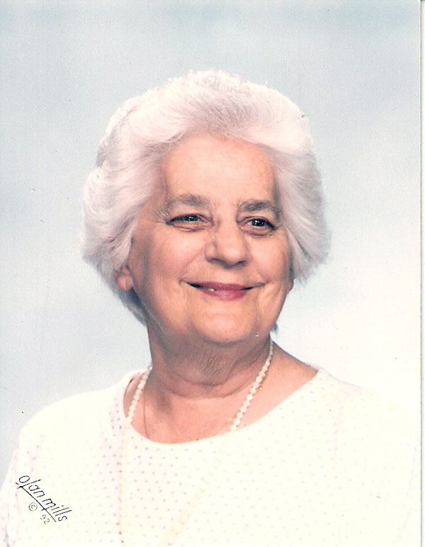 Photo of Mom from wall photo of July 05, 2019 ceremony