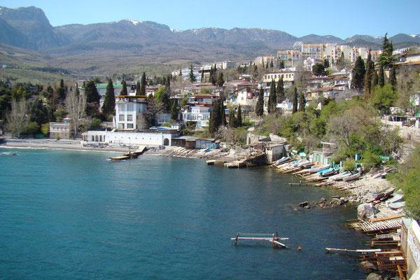 Гурзуф - Отдых на Черном море