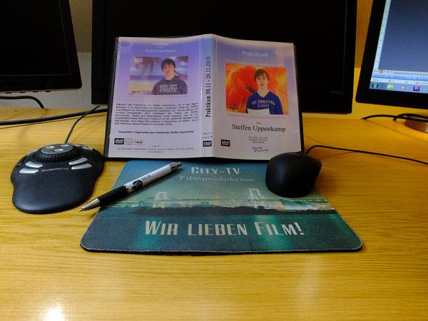 Bleibende Erinnerung: Die DVD mit allen meinen Beiträgen