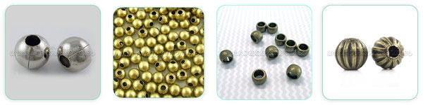 bolas entrepiezas metal abalorios