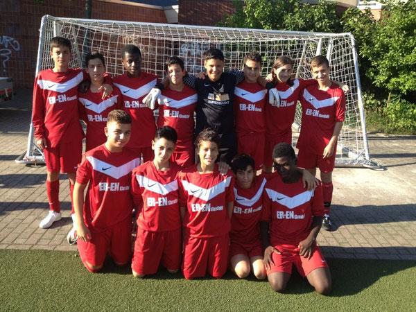 Teamfoto 01.08.2012