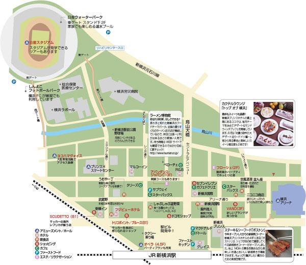 新横浜地図