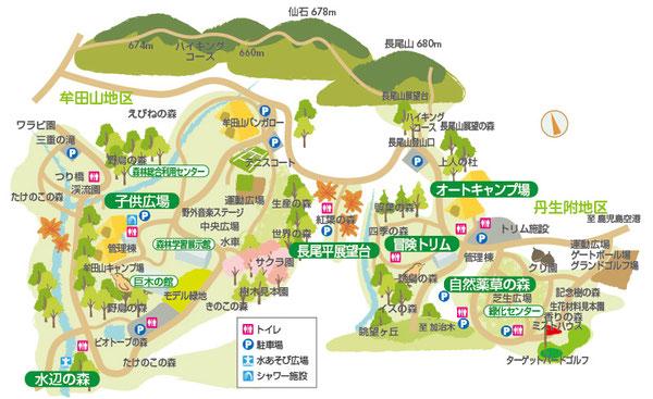 鹿児島イラストマップ