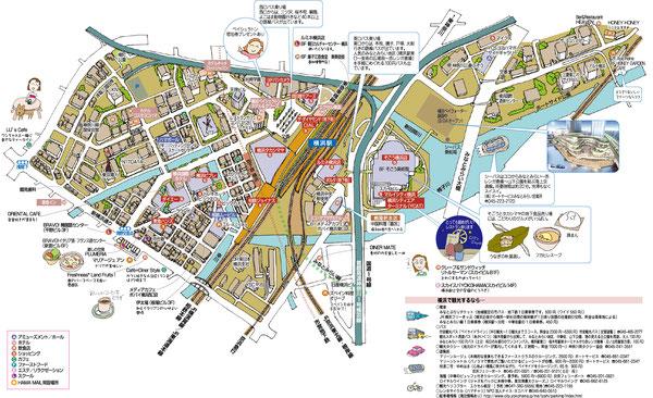 横浜駅周辺マップ