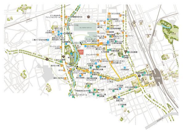 大宮駅周辺地図