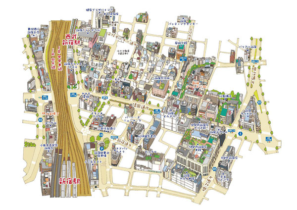新宿マップ
