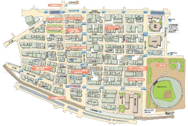 関内マップ