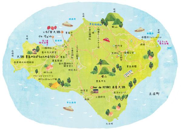 豊島イラストマップ