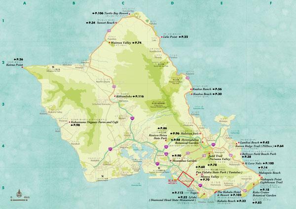 ハワイマップ