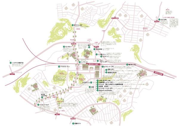 新百合ケ丘マップ