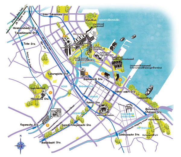 横浜マップ