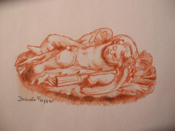 Cupido dormiente, XVI secolo; collezione Methuen, Corsham Court