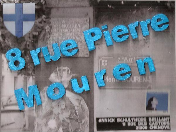 la rue où Annick habitait à Marseille....