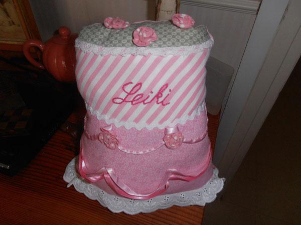 coussin gâteau pour Leiki